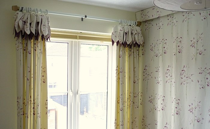 Attached Valance Curtains Sartorial Soft Furnishings