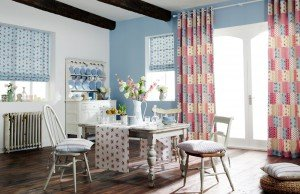 Decoupage collection in Powder Blue